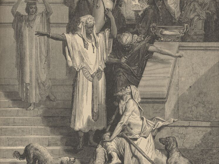 the rich man and lazarus essay Lazarus in crime and punishment: analysis & quotes  is he an extraordinary man,  lazarus in crime and punishment: analysis & quotes related study materials.
