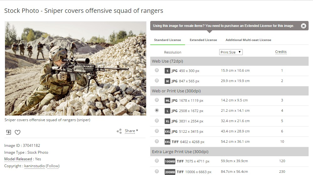 Sniper Covers Offensive Squad Of Rangers Stock Photo Picture And Royalty Free Image. Image 37041182.