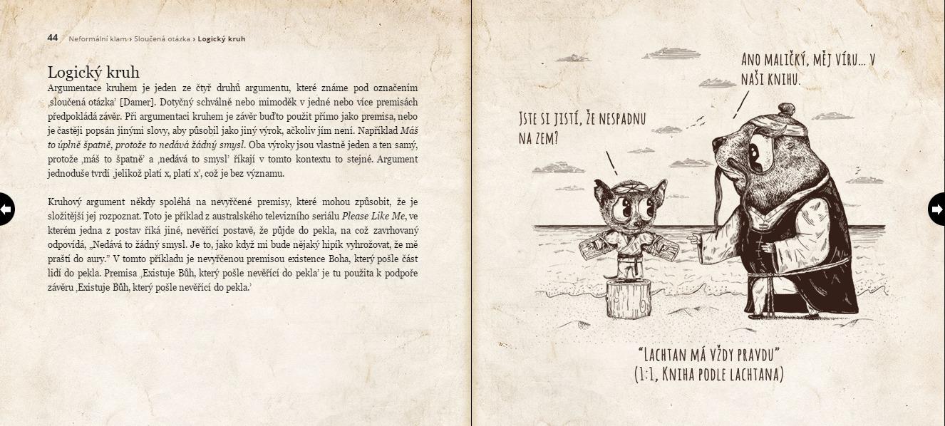 Ali Almossawi Ilustrovaná kniha argumentačních klamů beta – Archetypal.cz