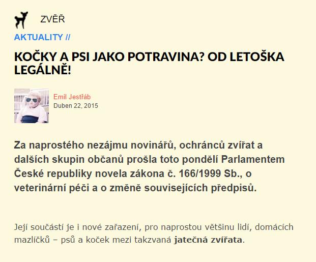 Burani.cz Kočky a psi jako potravina Od letoška legálně