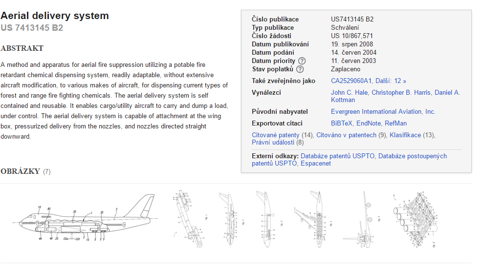 Patent US7413145 Aerial delivery system Patenty Google
